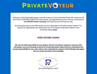Thumbshot of Privatevoyeur.com