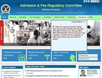 afrcmp.org screenshot