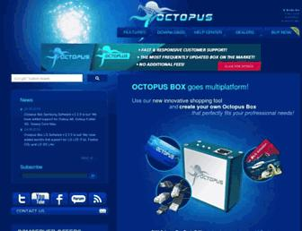octopusbox.com screenshot