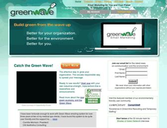 Thumbshot of Green-wave-email.com