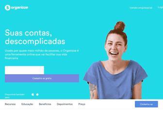 Thumbshot of Organizze.com.br