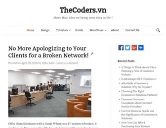 Thumbshot of Thecoders.vn
