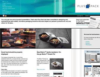pluspack.com screenshot