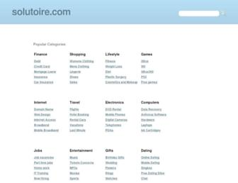 Screenshot for solutoire.com
