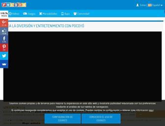 pocoyo.com screenshot