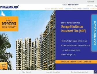 Thumbshot of Puravankara.com