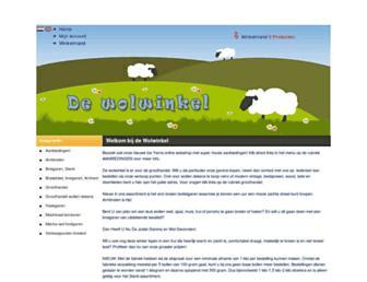 Thumbshot of Dewolwinkel.nl
