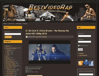 bestvideorap.com screenshot