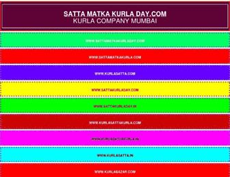 sattamatkakurladay.com screenshot