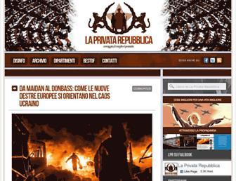 Thumbshot of Laprivatarepubblica.com