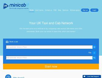 Thumbshot of Minicabit.com