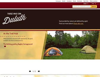 Main page screenshot of d.umn.edu