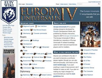 Thumbshot of Eu4wiki.com