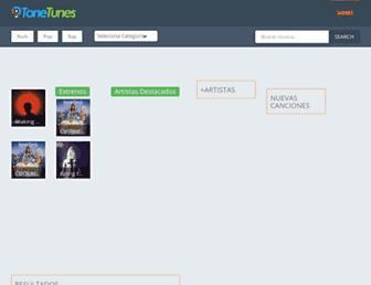 tonetunes.net screenshot