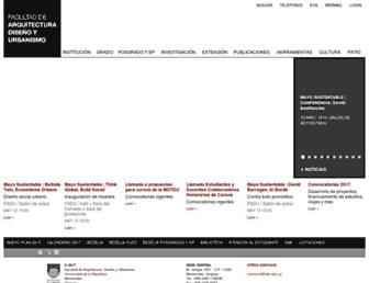 fadu.edu.uy screenshot