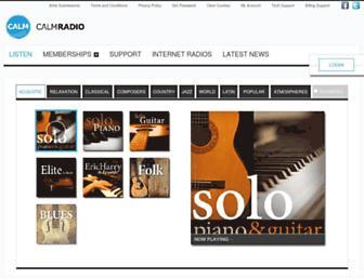 Thumbshot of Calmradio.com