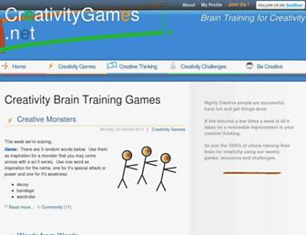 Thumbshot of Creativitygames.net