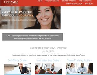 certwise.com screenshot