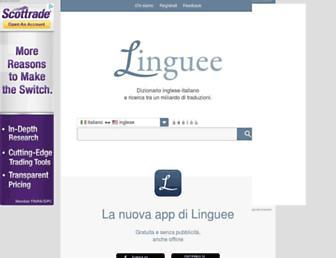 linguee.it screenshot