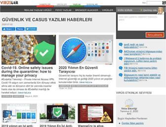 virusler.info.tr screenshot