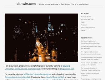 danwin.com screenshot