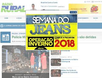 radiorural.com.br screenshot
