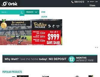 orbitfitness.com.au screenshot