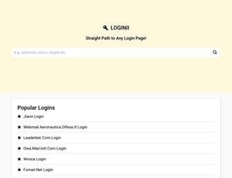 loginii.com screenshot