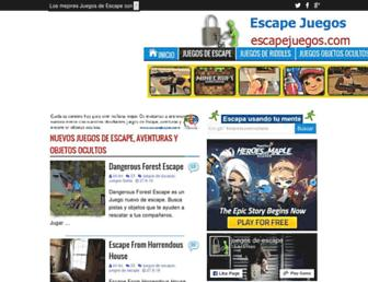 Thumbshot of Escapejuegos.com