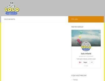 soloinfantil.com screenshot