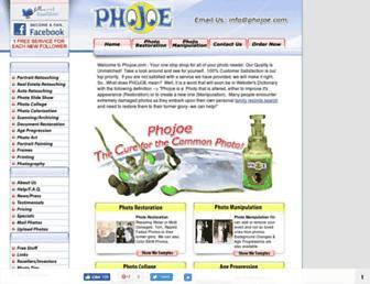 phojoe.com screenshot