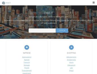 ense.it screenshot