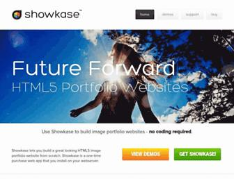 showkase.net screenshot