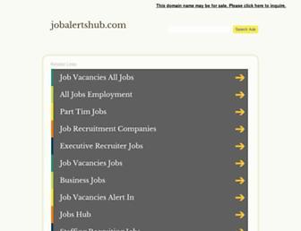 jobalertshub.com screenshot