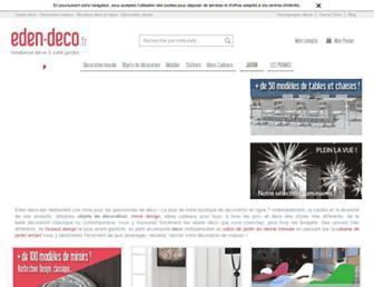 eden-deco.fr screenshot