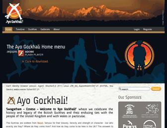 ayo-gorkhali.org screenshot