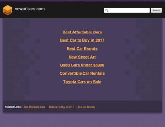 newartcars.com screenshot