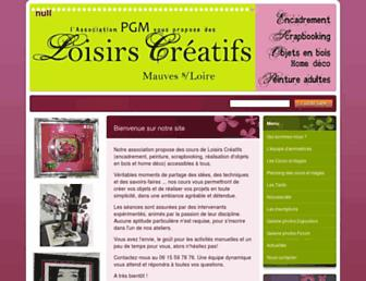 loisirscreatifsmauves44.fr screenshot