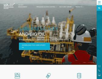 ssh.com screenshot