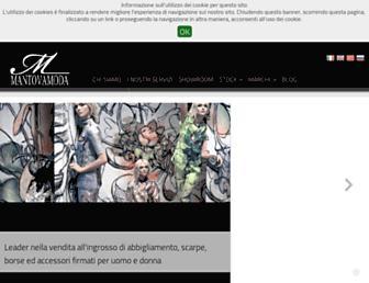mantovamoda.com screenshot