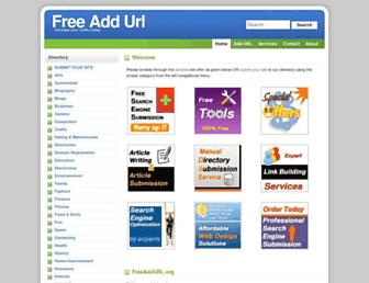 Thumbshot of Freeaddurl.org
