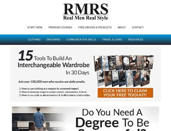 Thumbshot of Realmenrealstyle.com