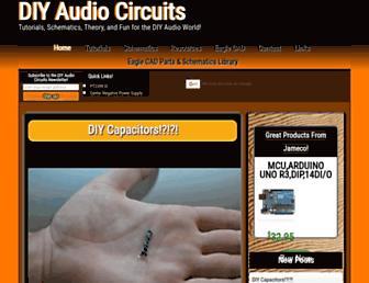 diyaudiocircuits.com screenshot