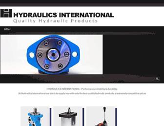 hydraulicsint.com.au screenshot