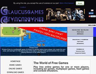 glaucusgames.com screenshot