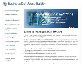 businessdbbuilder.com screenshot