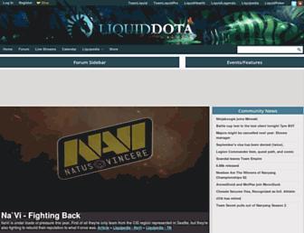 Thumbshot of Liquiddota.com