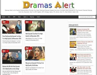 dramasalert.blogspot.com screenshot