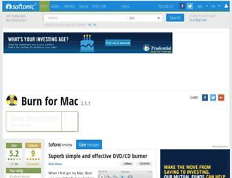 burn.en.softonic.com screenshot