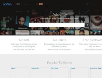 Thumbshot of Adder.tv